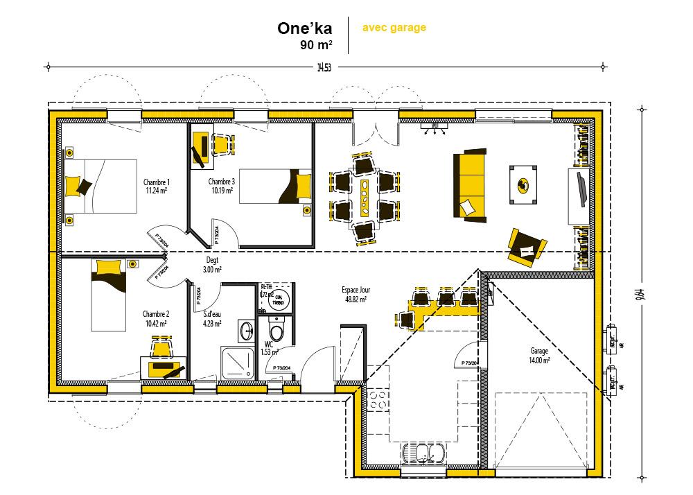Terrain et maison lesparre medoc alpha constructions for Garage lesparre medoc