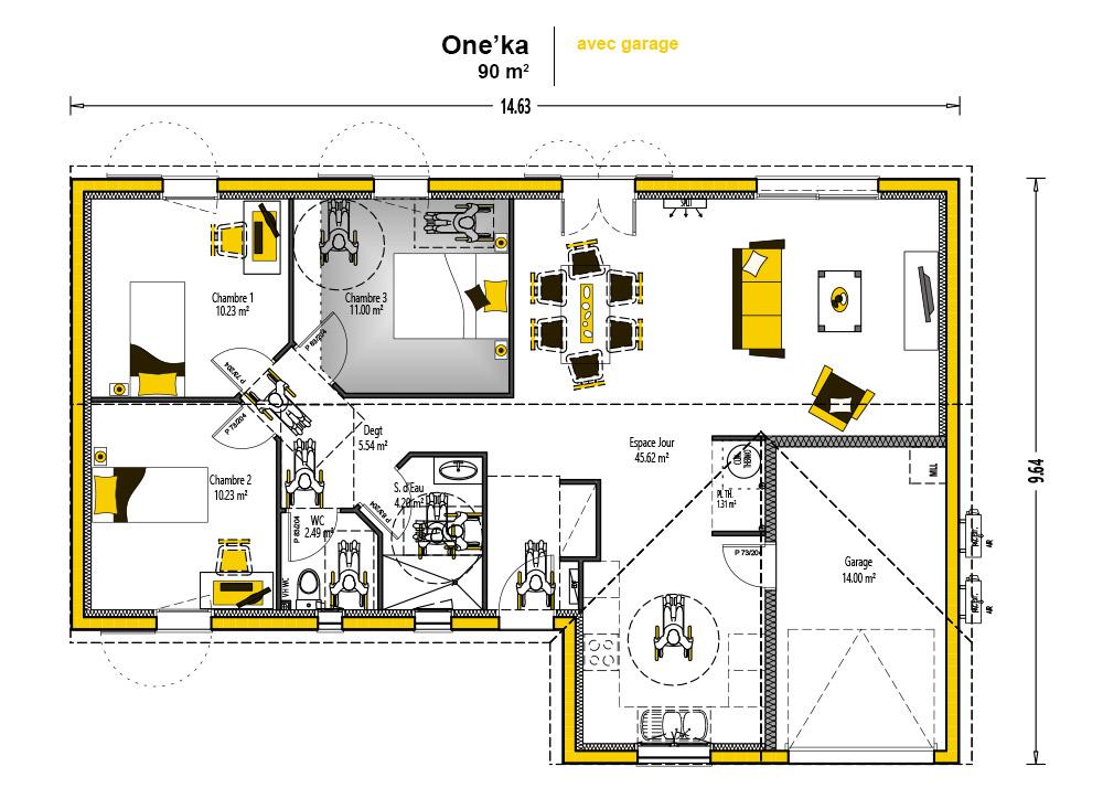 norme handicap chambre affordable choisir le bon quipement with norme handicap chambre. Black Bedroom Furniture Sets. Home Design Ideas